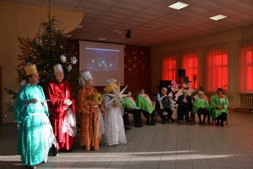 Trijų karalių šventė Raseinių r. Blinstrubiskių socialinės globos namuose (FOTO)