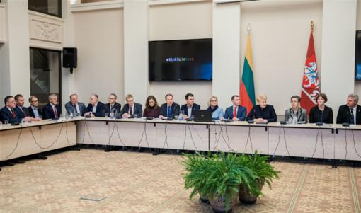 Susitikime su LR Prezidente aptarti emigracijos klausimai