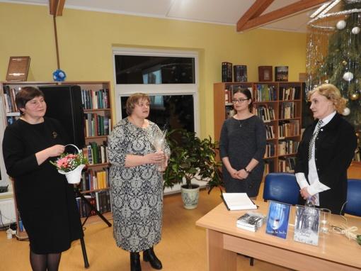 """Ignalinos viešojoje bibliotekoje pristatyta poezijos knyga """"Sielos lietus"""""""