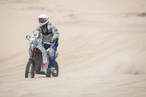 Motociklininkas B. Bardauskas: buvo labai sunku...