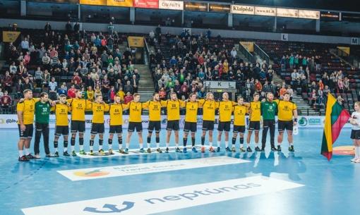 Lietuvos rankininkai nugalėjo latvius ir tęs kovą dėl patekimo į pasaulio čempionatą