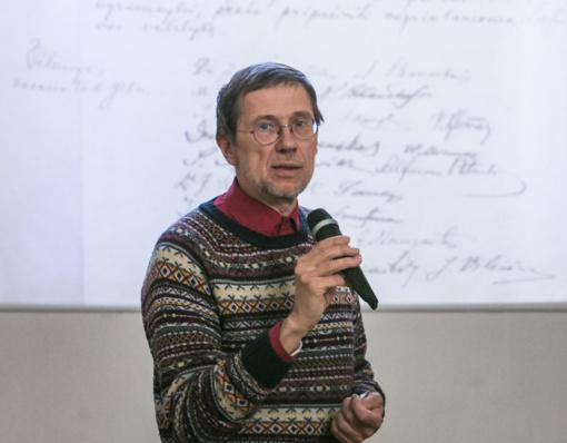 Prof. L. Mažylio rastą Nepriklausomybės paskelbimo aktą galės pamatyti visi norintieji