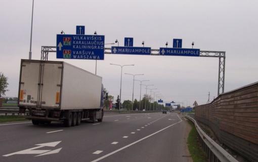 """""""Via Baltica"""": pradedami magistralės nuo Marijampolės iki Lenkijos sienos tiesimo parengiamieji darbai"""