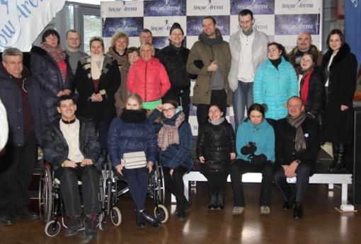 """Socialinio projekto """"Draugystė veža"""" dalyviai lankėsi Druskininkuose"""