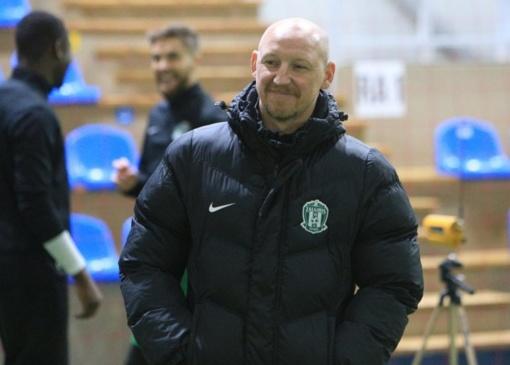 """""""Žalgirio"""" treneris A. Skarbalius: kryptingai judame į priekį"""