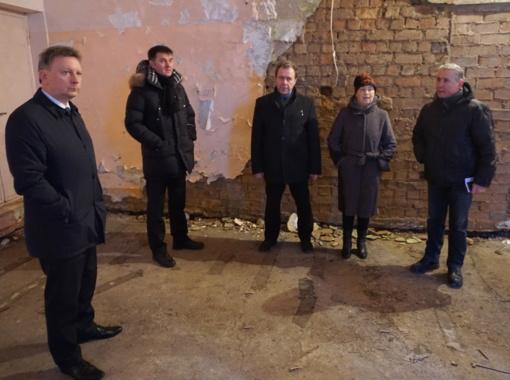 Plungės rajono savivaldybės vadovai ir administracijos darbuotojai vyko į Narvaišius