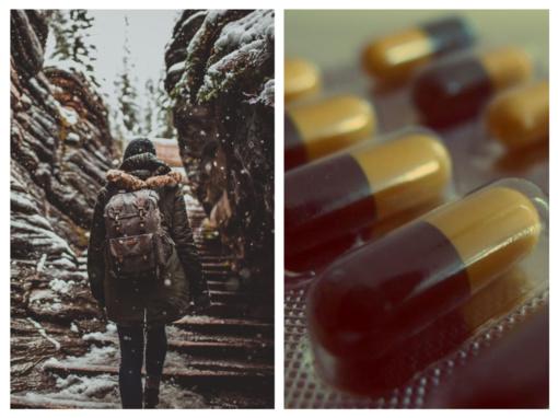 Kaip turėtų atrodyti žiemiška kelionės vaistinėlė?