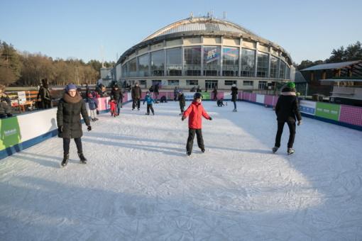 Vingio parkas kviečia visus susitikti naujoje ledo čiuožykloje