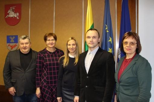 Panevėžio rajono savivaldybės administracijoje veiklą pradėjo Darbo taryba