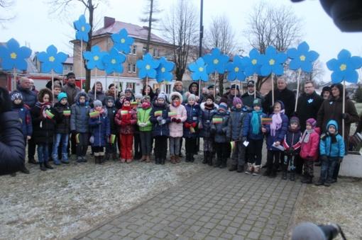 Pagėgių miesto parke minėta Laisvės gynėjų diena (FOTO)