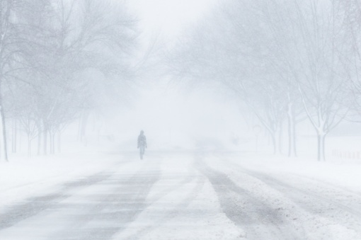 Lietuvoje naktį prognozuojama pūga