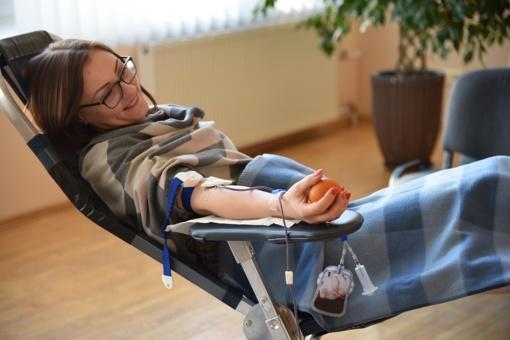 Šalčininkiečiai neatlygintinai dovanojo kraujo (nuotraukų galerija)