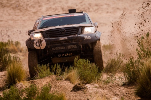 Didžioji Dakaro intriga: ar sugrįš į lyderio poziciją Mr. Dakar?