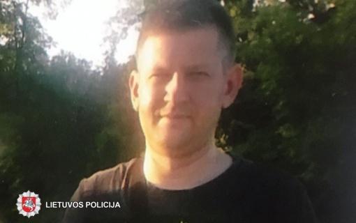 Panevėžio apskrities policija ieško dingusio be žinios Dainiaus Narbuto