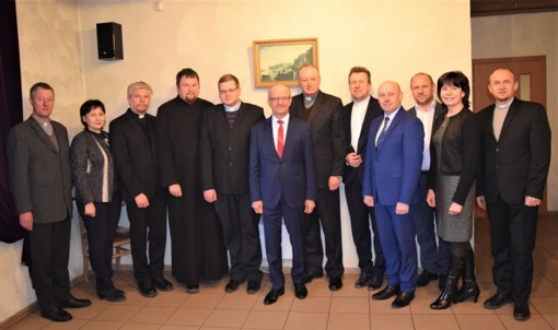 Susitikime su dvasininkais aptarė praėjusius metus