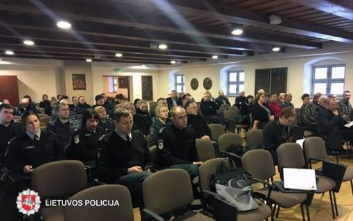 Biržų policija savo veiklą pristatė visuomenei