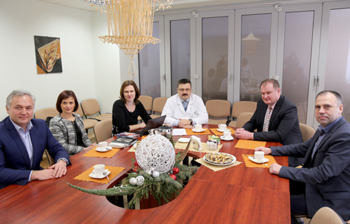 Utenos ligoninėje – svečiai iš Gardino