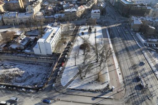 Bevardžiam Vilniaus skverui Šnipiškėse – Jono Jablonskio vardas
