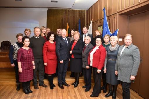 Birštone įvyko susitikimas su NVO vadovais ir seniūnaičiais: nuoširdus žmogiškasis ryšys ir bendravimas – svarbiausia