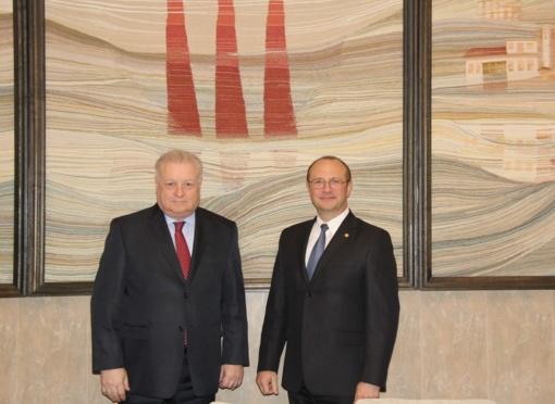 Druskininkuose lankėsi Rusijos Federacijos ambasadorius Aleksandras Udalcovas