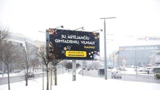 Kaunas Vilniui paruošė netikėtą gimtadienio dovaną: kauniečiai vilniečius kvies vakarienės