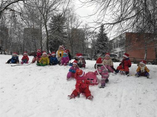Alytuje lopšelis-darželis minėjo Tarptautinę sniego dieną