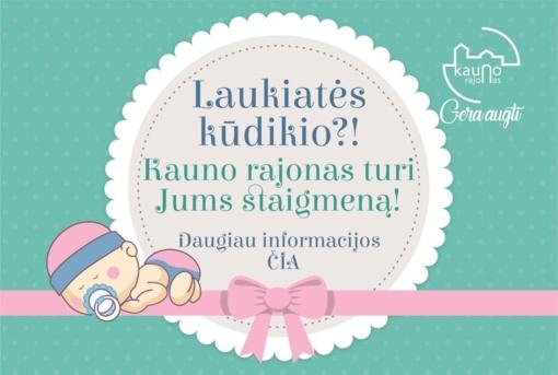 Svarbi informacija norintiesiems gauti kūdikio kraitelį!