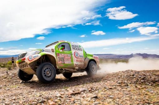 """Priešpaskutiniame Dakaro ralio etape Vaidotas Žala pateko į """"Top 10"""""""
