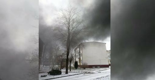 Naujosios Akmenės gyventojai dūsta nuo dūmų ir smarvės: kas už tai atsakingas?