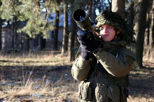 GROM ginkluotės integracija Oro gynybos batalione (FOTO)