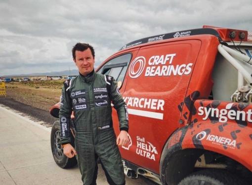 Lenktynininkas A. Juknevičius Dakaro ralyje - 12-as