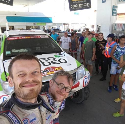 Dakaro ralyje - dvigubas lietuvių rekordas