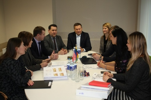 Alytaus rajono savivaldybė aptarė šių metų bendradarbiavimo planus su Voronovu