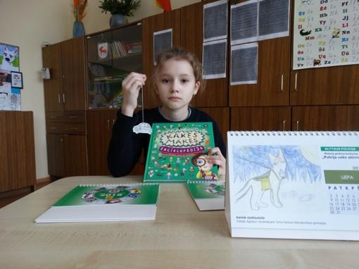 """Mokiniai dalyvavo piešinių konkurse """"Policija vaiko akimis"""""""