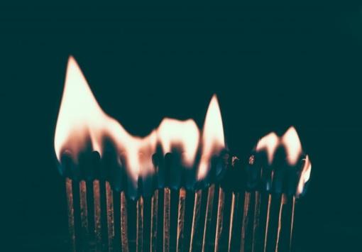 Lazdijų rajone sudegintas kieme stovėjęs kubilas