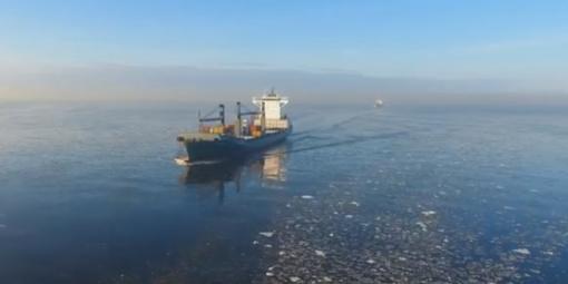 Vaizdo reportažas: KLAIPĖDA - Jūrų vartai pasitinka laivus