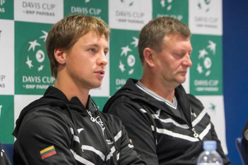 Daviso taurė: Lietuvos ir Estijos teniso rinktinės Šiauliuose žais pajėgiausių sudėčių