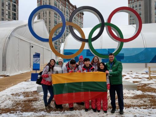 Pjongčangą pasiekė pirmieji lietuviai