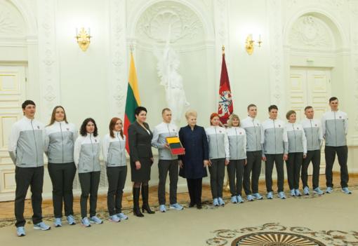 D. Grybauskaitė: mūsų olimpiečiai jaus milžinišką palaikymą