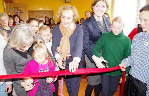 Mokyklos patalpose duris atvėrė Vaikų dienos centras