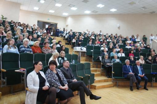 Ligoninėje surengtoje konferencijoje aptartos vidaus ligų gydymo aktualijos