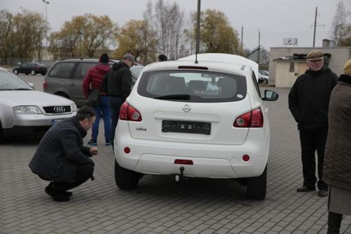 Bendrovė neatgauna automobilio