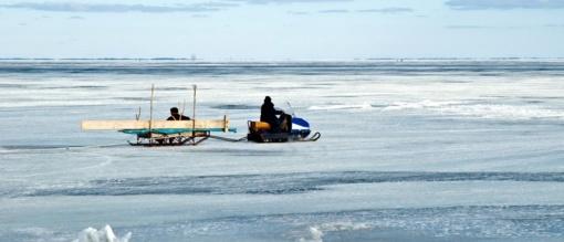 Kauno marių ledas yra pavojingas, įspėja sinoptikai