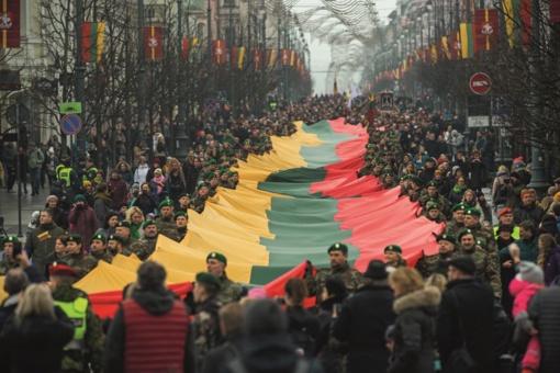 Švęskime Lietuvos atkūrimo šimtmetį kartu (vaizdo reportažas)