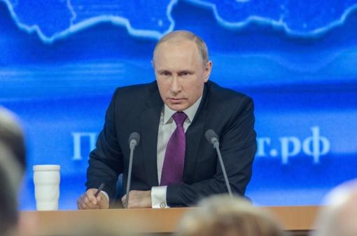 Putinas prisipažino neturintis išmaniojo telefono