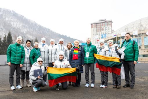 Olimpiadoje plevėsuojanti trispalvė – žinia pasauliui apie Lietuvą