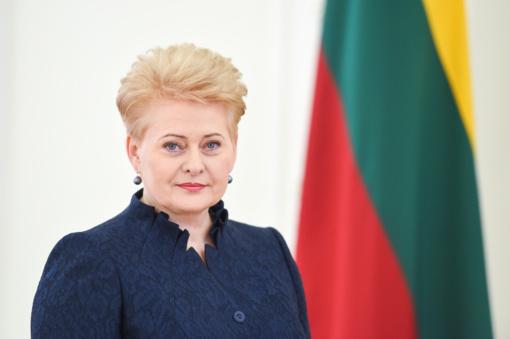 D. Grybauskaitė sveikina sprendimą neleisti Rusijai dalyvauti olimpiadoje