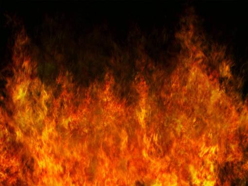 Naktį Pagėgių savivaldybės teritorijoje degė automobilis