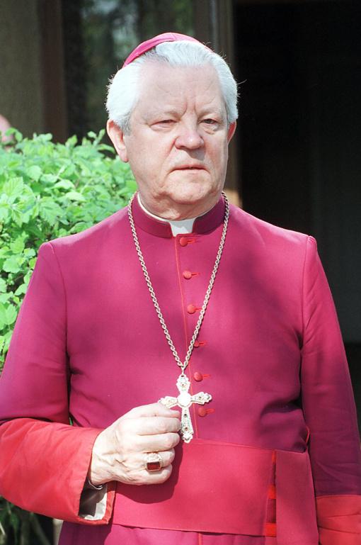 Vyskupas J. Preikšas amžino poilsio atguls Panevėžyje
