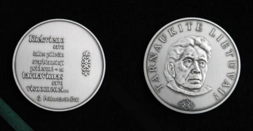 """Išrinkti G. Petkevičaitės-Bitės atminimo medalio """"Tarnaukite Lietuvai"""" laureatai"""